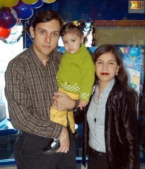 Abigail Moerno Esqueda  celebró su segundo cumpleaños con una divertida fiesta infantil preparada por sus papás Alfonso Moreno Robles y María Jovita Esqueda Tagle.