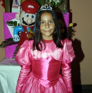 Ana Gabriela Escárcega Manríquez fue festejada con una divertida fiesta infantil por sus ocho años de vida.