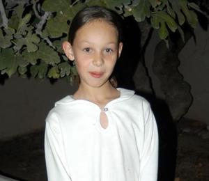 La niña Marcela Rivera Estens cumplió diez años de vida y por tal motivo fue festejada por su familia