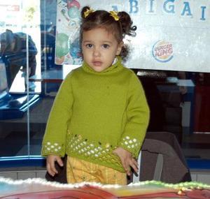 Niña Abigail Moreno Esqueda, el día que festejó su segundo cumpleaños