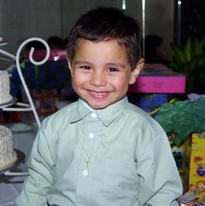 Jesús Ortega Cervantes festejó su tercer cumpleaños con una divertida fiesta que le organizaron.