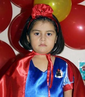 Karla Cecilia Tinajero festejó su cuarto cumpleaños de vida con una divertida fiesta infantil.