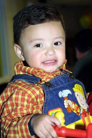 <u> 13 de diciembre </u> <p> Sebastián Woo Trasfí festejó sus dos años de vida con una fiesta infantil.