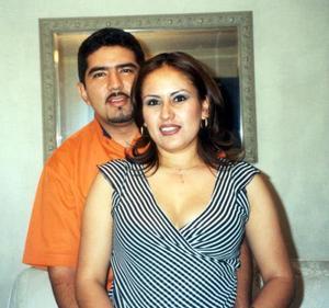 Esteban de Jesús Íñiguez y Yadira Valdez contrajeron matrimonio recientemente.