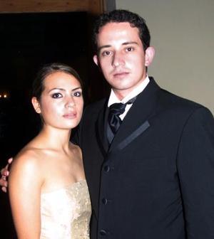 <u> 13 de diciembre </u> <p> Marcela Martínez y Alberto Fernández.