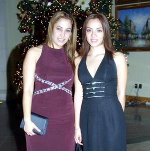 Daniela Graham y Karen Plata.