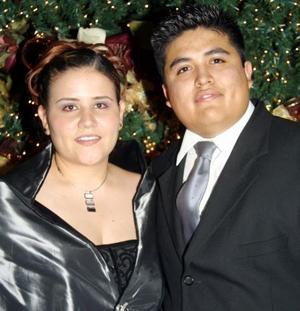 Nancy Rivera y Pedro García Rangel.