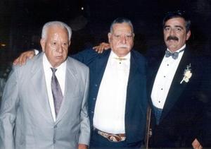 José Yáñez, Jesús Yáñez Díaz y Rafael Álvarez Cruz