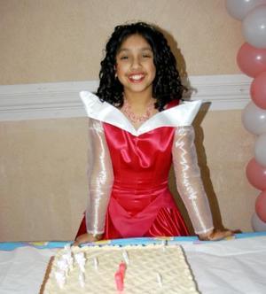 Cinthia Edith Barriada Canales festejó su onceavo cumpleaños de vida con una divertida fiesta.
