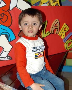 Nazario López Téllez festejó su cumpleaños en días pasados con una divertida fiesta infantil.