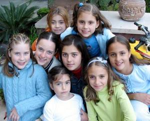 <u>15 de diciembre </u><p>  Regina, Romina, Sofía, Any, Bárbara, Luisa, Aranza y Cristy.
