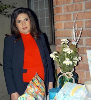 Lucía Almaraz de Ebrard fue festejada con una fiesta de canastilla por la próxima llegada de su bebé.
