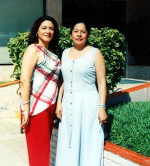 María Elene Rodríguez Hernández y Martha Alejandra Reyes González festejaron sus respectivos cumpleaños recientemente.