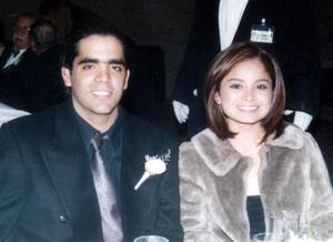 Luis Fernando Álvarez Mcannally y Daniela de Santiago Chávez.