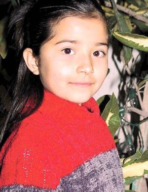 Mónica López Sotomayor cumplió 8 años de edad en días pasados