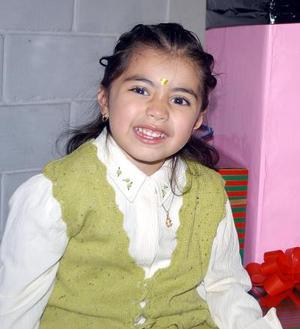 <u>18 de diciembre </u><p> Nathaly Valdez del Bosque festejó su cuarto cumpleaños con una divertida fiesta infantil.