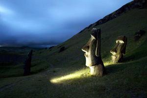 Aunque el apoyo fue tímido al comienzo, el ánimo isleño mejoró la semana pasada cuando se conoció la noticia de que la firma alemana Maar prometió a la Unesco un proyecto para conservar las estatuas, por 11,5 millones de dólares.