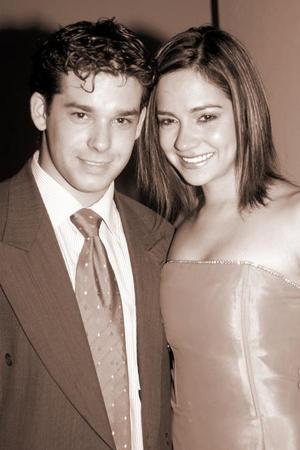 Emilio Aparicio y Daniela Rubio