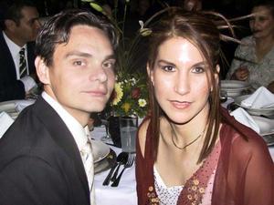 Luis Bernal y Mayte Romero.