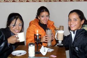 Michelle Rodríguez, Sofía Katsicas  y Ale Muruaga.