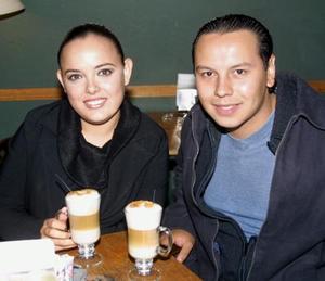 Rosa Angélica Ayma y Samir Pacheco.