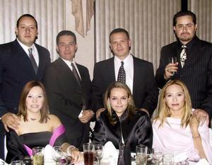 Gerardo Páramo, Carolina Otero, Ricardo Ramos, Sara Alcalde, Sergio Aguiñaga, Francisco Ballesteros,y Alejandra González.
