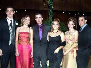 <u>20 de diciembre</u> <p> Omar Márquez, Pilar Sánchez, Polo Cuesta, María Elena Barrera, Gaby Monárrez y Miguel Barrera.