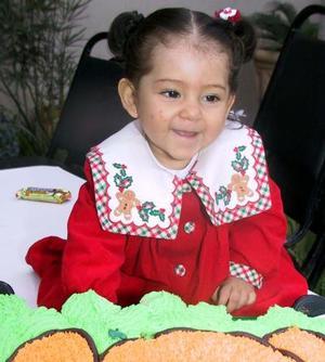 La pequeña María José Cruz Muñoz celebró su cumpleaños con un divertido convivio infantil organizado por sus papás Jaime Cruz González y Josie Muñoz.