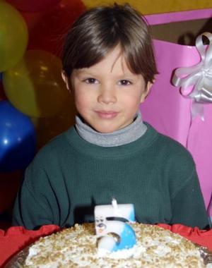 Maximiliano García Rodríguez festejó cinco años de vida.