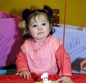 Valentina García Rodríguez cumplió su primer año de vida.
