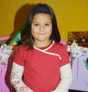 <u>20 de diciembre </u><p>  Valeria García Rodríguez festejó sus siete años de edad.