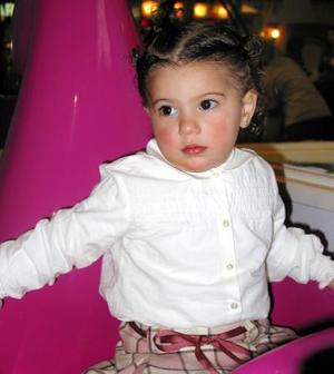 Miam Banda Jalil fue festejada por sus papás, con una divertida fiesta infantil.
