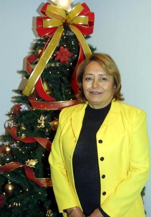Guadalupe Segovia de Muñoz festejó su cumpleaños con un convivio.