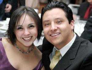 Cristy Jaramillo y Jorge Cano.