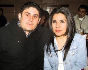 Paco Rico y Graciela Martínez.