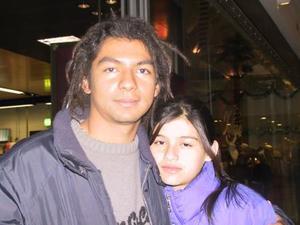 Ramiro y Mariana Navarro.