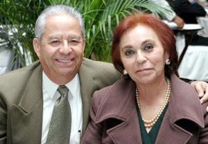 José Luis Rangel y Sofía Sánchez.