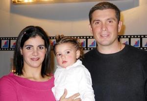 Hanan Jail de Banda y Arturo Banda Sánchez festejaron a su hija Miriam con una divertida fiesta infantil, por sus dos años de vida.