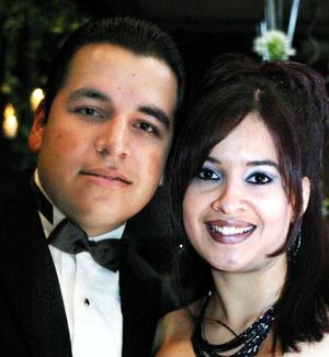 Rodolfo Robles y Karla Rosales.