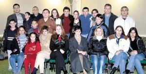 Familias Rodríguez Ramírez, Rodríguez Montaña, Rodríguez Corcuera, Rodríguez Araujo se reunieron recientemente.