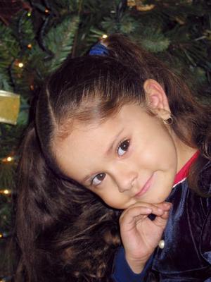 Daniela Rodríguez Téllez festejó su cuarto cumpleaños en días pasados.