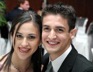 <u> 24 de diciembre </u> <p> Arely González Casiilas y Luis Armando Flores.