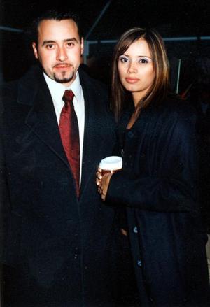 Raúl Villegas y Cinthia Murillo en pasado acontecimiento social.