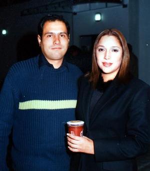Marcelo Mendoza y Pamela Muñiz.