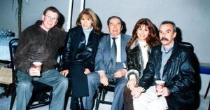 Steve Ritchie, Malena Ritchie, Julián Díaz, Yolanda Berquin y Patriico Berquin.