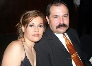 Ana de Yanes y Julio Adolfo Yanes.