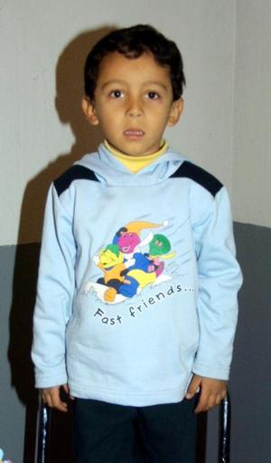 Miguel Ángel Heredia Álvarez festejó su cuarto aniversario de vida, con una divertida fiesta infantil.