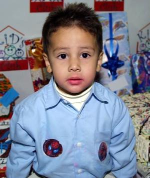 <u> 28 de diciembre </u> <p> Sebastián Graham de la Cruz cumplió tres años de vida y por tal motivo fue festejado con una fiesta infantil.