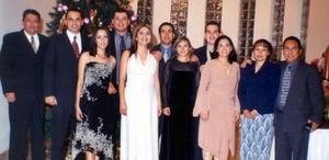 <u> 28 de diciembre </u> <p> Roberto Hernández , Samuel Valadez, Adriana Arredondo, Perla López, Arnoldo Becerril, Víctor González, Carolina Morales, Luis Carlos Villalobos, Marcela Córdova, Juan Borja y Patricia Rodríguez.
