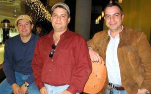 Federico Zermeño, Ernesto López y Alberto Villarreal.